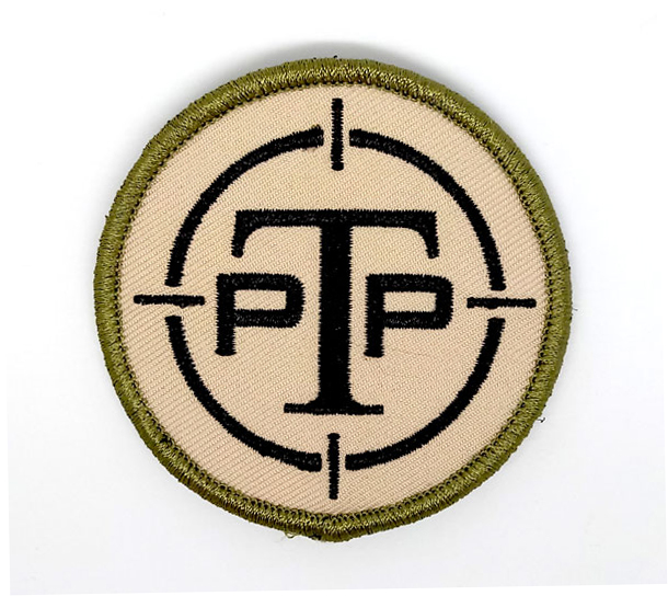 PTP Tactical Velcro Embroidered Patch