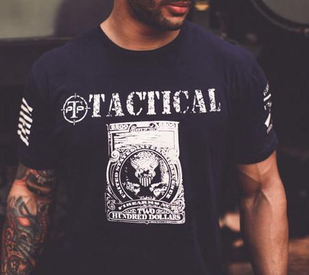Grunt-Style-Tshirt---Tax-Stamp---Navy