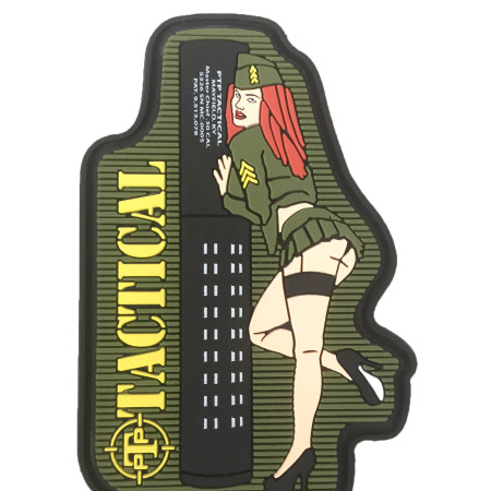 PIN UP PVC PATCH
